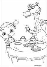 Franny's Feet coloring page (005)