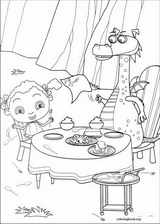 Franny's Feet coloring page (006)