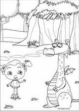 Franny's Feet coloring page (008)