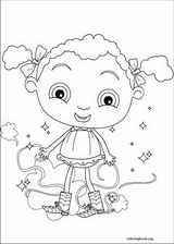 Franny's Feet coloring page (009)