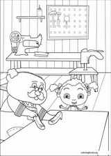 Franny's Feet coloring page (010)