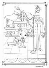 Franny's Feet coloring page (011)