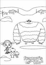 Franny's Feet coloring page (012)
