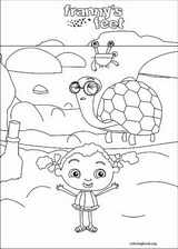 Franny's Feet coloring page (013)