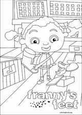 Franny's Feet coloring page (014)