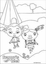 Franny's Feet coloring page (015)