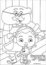 Franny's Feet coloring page (016)