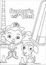 Franny's Feet coloring page (017)