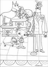 Franny's Feet coloring page (019)