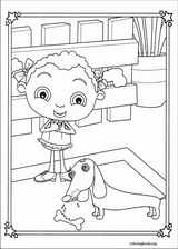 Franny's Feet coloring page (023)