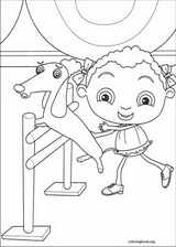 Franny's Feet coloring page (025)