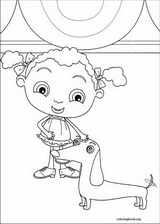 Franny's Feet coloring page (026)