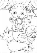 Franny's Feet coloring page (027)