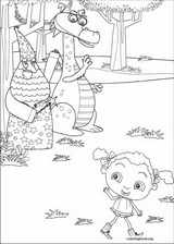 Franny's Feet coloring page (029)