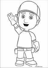 Handy Manny coloring page (006)