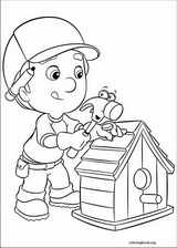 Handy Manny coloring page (014)