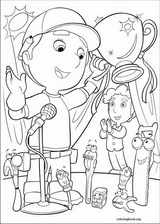 Handy Manny coloring page (023)