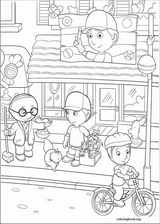 Handy Manny coloring page (025)