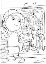 Handy Manny coloring page (028)