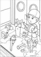 Handy Manny coloring page (029)