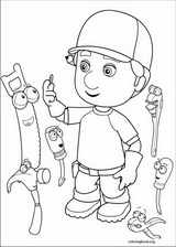 Handy Manny coloring page (038)