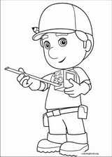 Handy Manny coloring page (040)