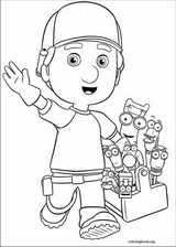 Handy Manny coloring page (042)