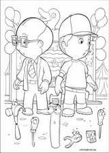 Handy Manny coloring page (046)