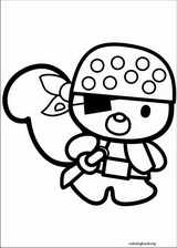 Hello Kitty coloring page (008)