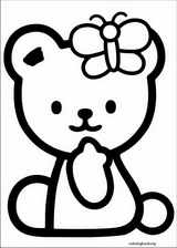 Hello Kitty coloring page (009)