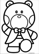 Hello Kitty coloring page (013)