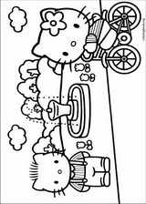 Hello Kitty coloring page (031)