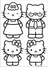 Hello Kitty coloring page (039)