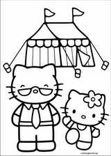 Hello Kitty coloring page (041)