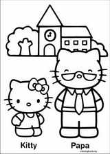 Hello Kitty coloring page (042)