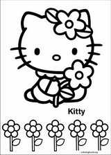 Hello Kitty coloring page (046)