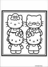 Hello Kitty coloring page (050)