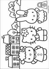 Hello Kitty coloring page (052)