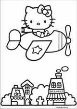 Hello Kitty coloring page (056)