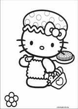 Hello Kitty coloring page (059)