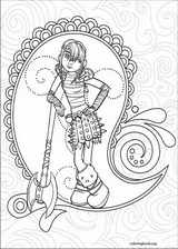 How To Train Your Dragon coloring page (002)
