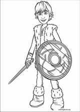 How To Train Your Dragon coloring page (010)