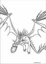How To Train Your Dragon coloring page (015)
