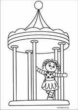 In The Night Garden coloring pages ColoringBookorg