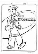 Kim Possible coloring page (004)
