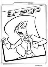 Kim Possible coloring page (011)