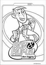 Kim Possible coloring page (013)