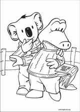 Koala Brothers coloring page (001)