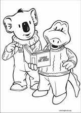 Koala Brothers coloring page (003)