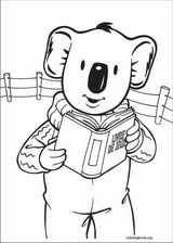 Koala Brothers coloring page (005)